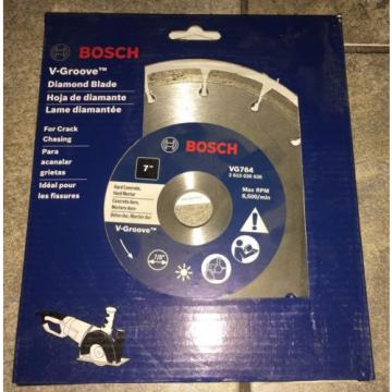 "New Bosch VG764  V-Groove 7"" Diamond Blade For Concrete & Hard Motor"