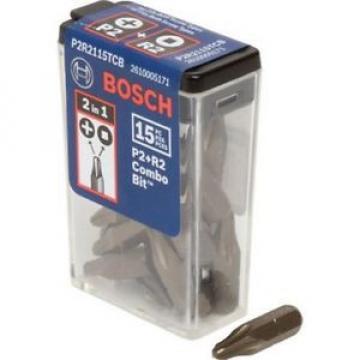 Bosch P2R2 Combo Driver Bit 15-Pack