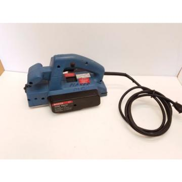 "Bosch 3258 Electric Planer two blades 5.7 Amp - 3 1/4"" Made in Switzerland"