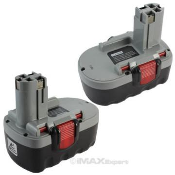 2 x 3.0AH 18V Extended Bosch Ni-Mh Battery for  BAT180 13618 1644 1659K...