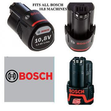 Bosch 10.8 V  Battery Li-ion 1.5 Ah - Fits all Bosch 10.8 kit
