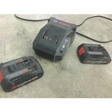 bosch 18v batteres and charger good working condition!!!