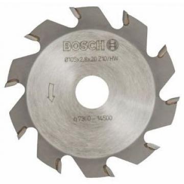 Bosch 3608641001 - Frese a disco, 10 pezzi, 20 mm, 2,8 mm