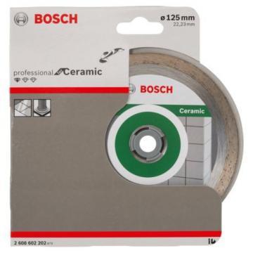 Bosch 2608602202 Diamond Cutting Disc Standard for Ceramic 125 mm NEW