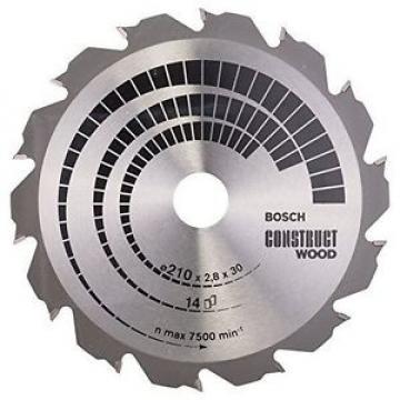 Bosch Zubehör 2608640634 - Lama per sega circolare Construct Wood, 210 x 30 x
