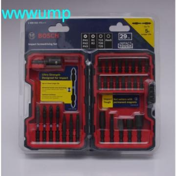 Bosch 29-piece Impact Screwdriving Set. Torx Hex Phillips bit PH PH2 R1 R2 HEX