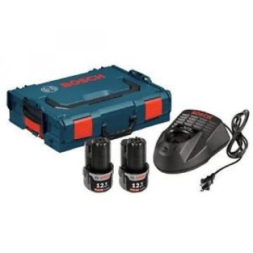 Bosch SKC120-202L 12-Volt Max Lithium-Ion Starter Kit with (2) 2.0 Ah Batteries,