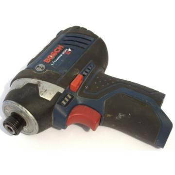 "Bosch PS41 Impact Driver 12V Cordless Tool  1/4"" Hex Driver"