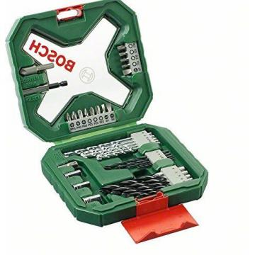 Bosch 2607010608 X-Line Classic Drill and Screwdriver Bit Set, 34 Pieces