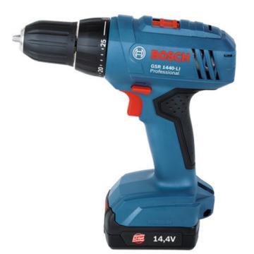 New Cordless Drill Driver GSR 1440-LI Professional Powerful LI-ion Bosch 220V