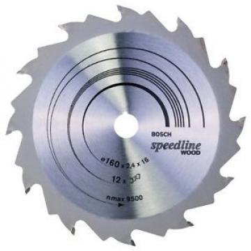 Bosch 2608640784 Speedline Lama Circolare, 160 x 16, 12D