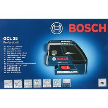 Bosch GCL- 25 Self Leveling 5-Point Alignment with Cross Line Laser