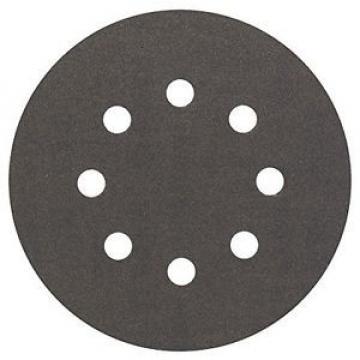 Bosch 2608605119 - Disco abrasivo per levigatrice eccentrica, Ø 125 mm, 8 fori,