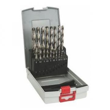 Bosch 2608587013 - Set di punte per metallo in ProBox, 19 pezzi, HSS-G, 135°,
