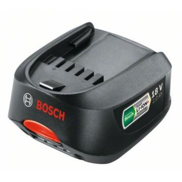 2 x Bosch Green TOOL Li-ION Batteries 18v 2.0ah 2607336207 2607336921 1600Z0003U