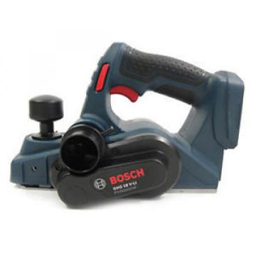 BOSCH GHO18V-LI Rechargeab Cordless Planer with Tool Box (Solo Version)