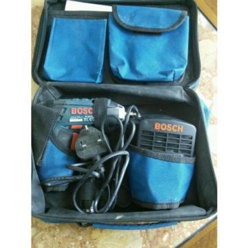 Bosch GSR ProDrive Cordless Drill/Screwdriver. 2 batteries, charger +soft case