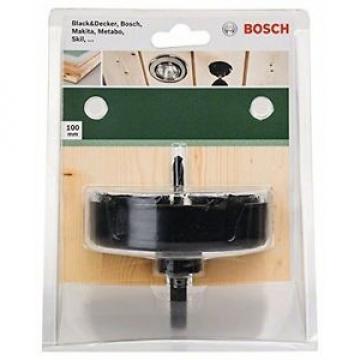 BOSCH sega a tazza per lampade faretti, Carbon 1/4 HEX, 100 mm, 2609256D13