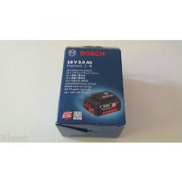 Bosch Premium 18v 3ah Li Battery - New Li-ion