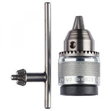"""Bosch 2608571068 - Mandrino a corona dentata, cromato, 1,5-13 mm, 1,3 cm (0,5"""")"""