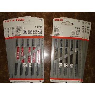 NEW Bosch Jigsaw Blades (T1B & T27D) 31/2 inch--wood/metal-see pics-  45 total-