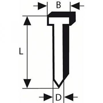 Bosch 2608200514 - Chiodo a testa fresata, 1,2 mm/30 mm