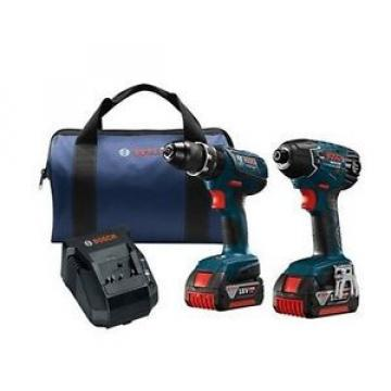 2-Tool 18-Volt Lithium Ion Li-ion Brushed Motor Cordless Combo Kit Soft Case
