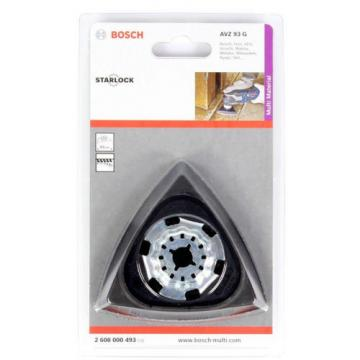 New Bosch 93mm Multi-Tool Starlock Sanding Plate AVZ 93 G with Micro Velcro-Type