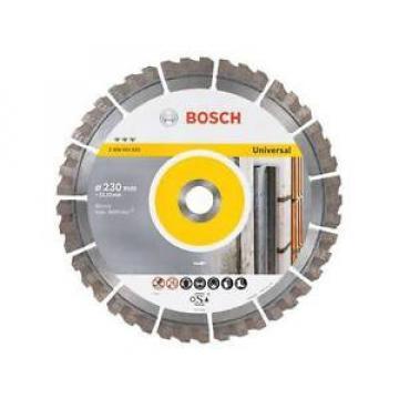 BOSCH 230mm Diamond Disc -Universal & Segmented - 2608603633
