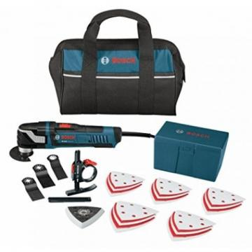 Bosch MX30EC-31 Multi-X 3.0 Amp Oscillating Tool Kit With 31 Accessories By