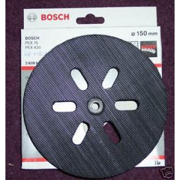 Bosch Medio Velco Apoyo Almohadilla 150mm 2608601052 PEX 15 PEX 420 PEX 150AC
