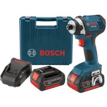 Bosch IDS181-01 18-Volt Lithium-Ion Compact 1/4-Inch Hex Impact Driver with 2