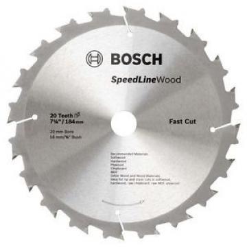 Bosch Speedline Wood Circular Saw Blades 184mm  - 20T  AUSSIE STOCK