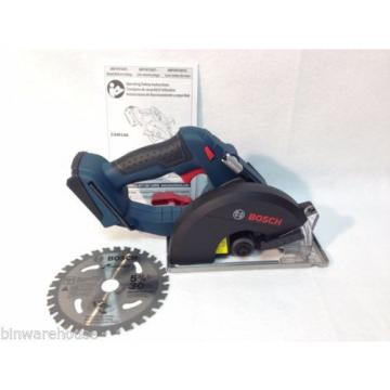 Bosch CSM180 NEW 18-Volt 5-3/8-Inch Soft-Grip Metal Circular Saw - Bare Tool