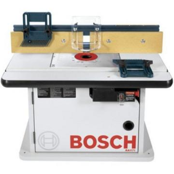 Bosch Router Table Surface Adjustable Tall Aluminum Fence 15-7/8-in x 25-1/2-in