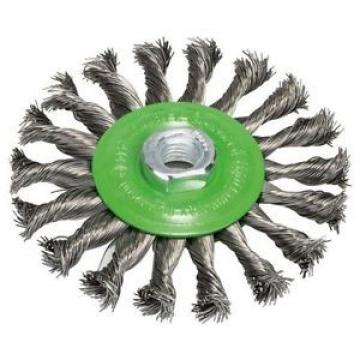 BOSCH, 2608622106, Spazzola a disco in acciaio inox annodato fili, 0,5