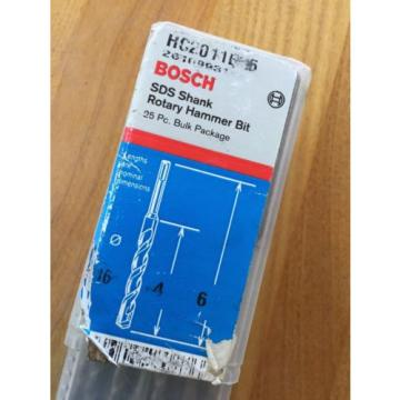 Bosch HC2011B25 25-Piece 3/16 In. x 6 In. SDS Shank Rotary Hammer Bits