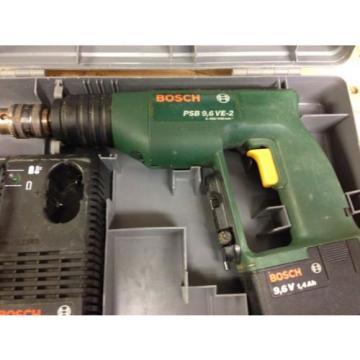 Bosch Cordless Drill-Driver PSB 9.6 VE2