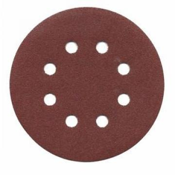 "BOSCH SR5R105 5"" 100 Grit Hook and Loop Discs, 8-Hole - 50 pack"