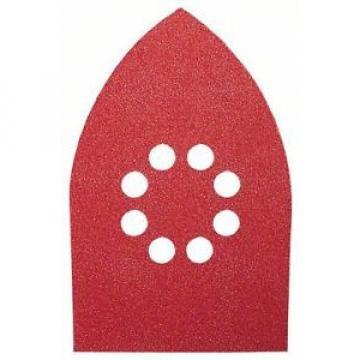 BOSCH 10 Fogli Abrasivi Per Levigatrice Palmare 100x171 Grana 60/120/180 8fori