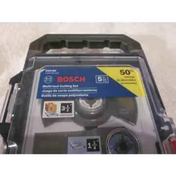 "BOSCH OSCS5 5Pc Multi-Tool Set for Wood & Metal,1-1/8"", 3-1/2"" & 3 1-1/4"""