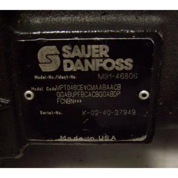 "NEW SAUER DANFOSS M91-4806 HYDRAULIC PUMP 19 TEETH 1-1/4"" DIA M914806"