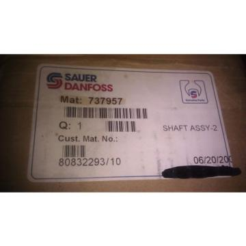 GENUINE SAUER DANFOSS SHAFT BEARING ASSEMBLY 737957