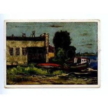 167612 Russia LENINGRAD Zayachy Island by LINDE Vintage PC