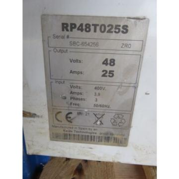 Forklift Battery Charging/Changing Station 24v 36v 48v BT Rolatruc Toyota Linde