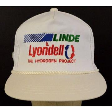 Linde Lyondell The Hydrogen Project Embroidered Baseball Hat Cap Adjustable