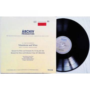 Hans-Martin Linde, Holliger: Mozart - Flute & Oboe Concertos / Archiv red stereo