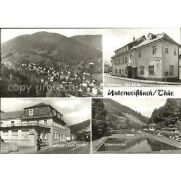 42600000 Unterweissbach Gasthaus Zur Linde Zum Hirsch Schwimmbad Unterweissbach