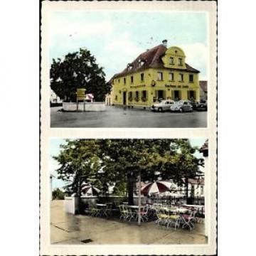 Ak Heßdorf in Mittelfranken, Straßenpartie am Gasthaus zur Linde,... - 1688781
