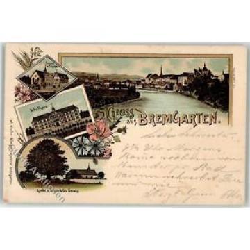 52011614 - Bremgarten AG 1898 Anstalt Schulhaus Linde  Preissenkung